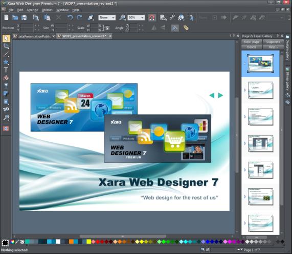 Presentation What S New In Xara Web Designer 7 Page 4
