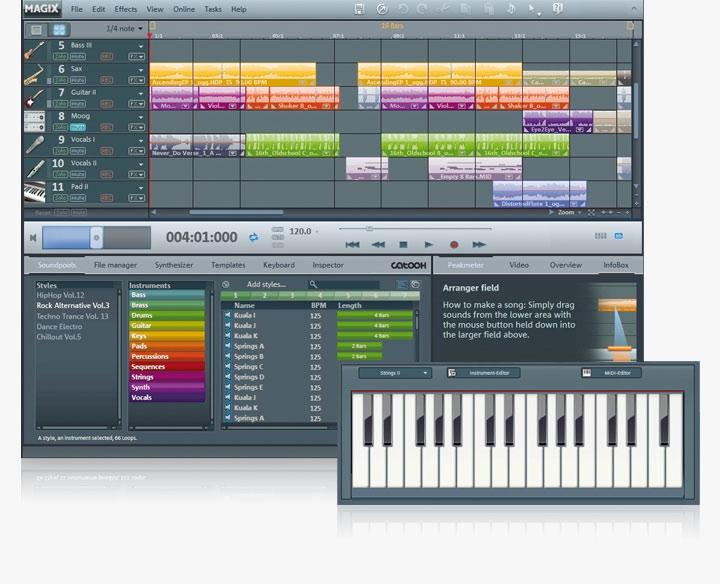 telecharger magix music maker 17 gratuit