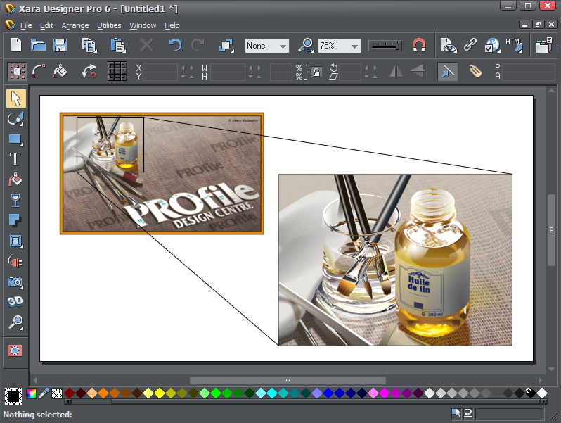 Xara Photo & Graphic Designer 6.0