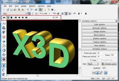 Xara 3D Maker features