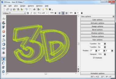 Xara 3d maker full version. 3D Uygulama Popülerleri.