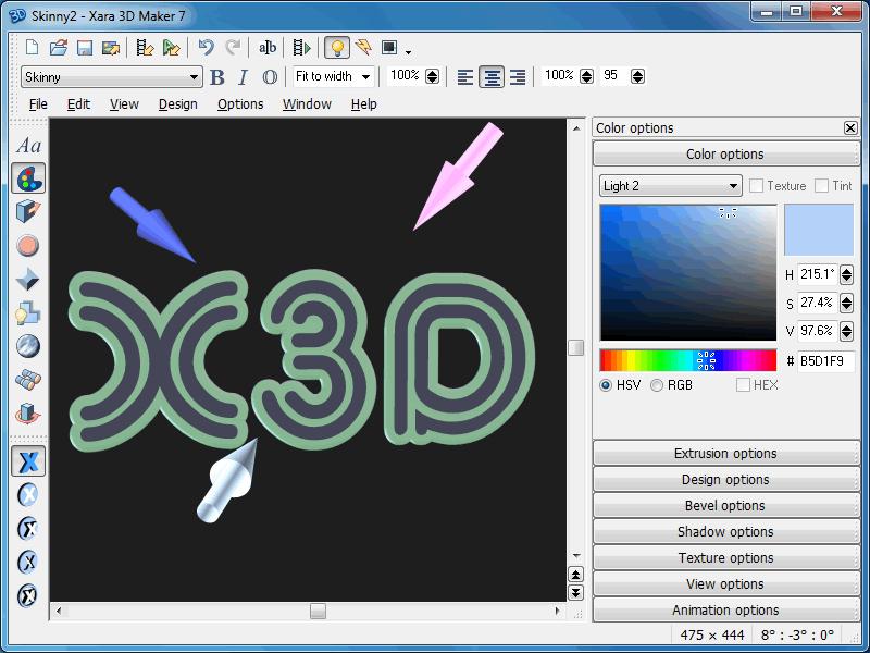xara 3d maker 7.0.0.415