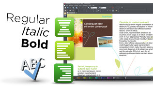 The features of Xara Page & Layout Designer