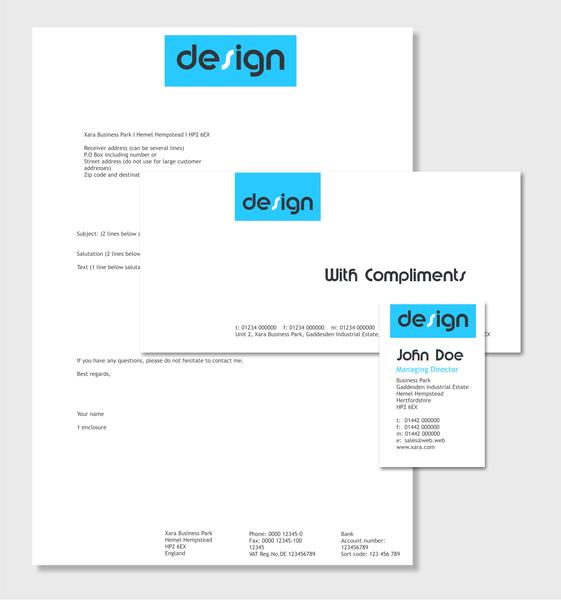 Xara Page & Layout Designer templates