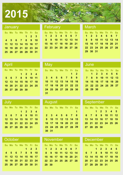 2015 Calendar Philippines Template | Search Results | Calendar 2015