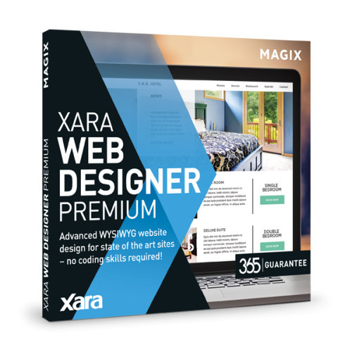 Click to view Xara Web Designer Premium screenshots