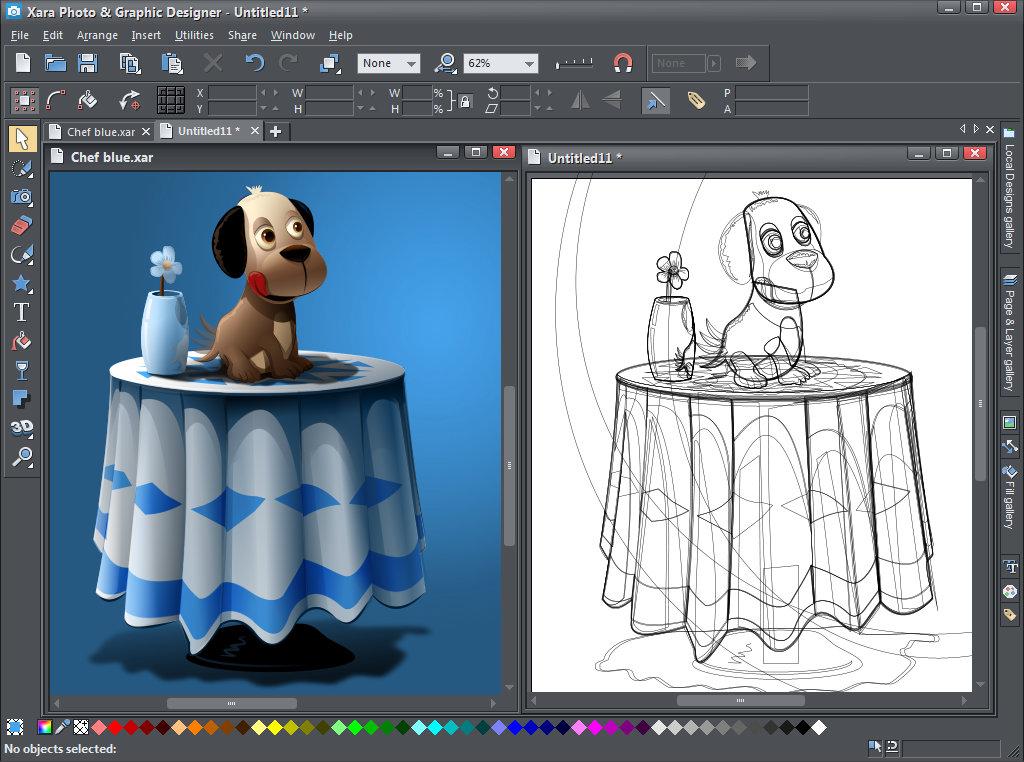 Xara designer pro 7