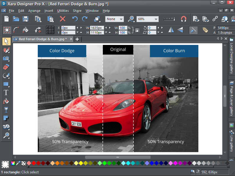 Xara Designer Pro X Review for Windows
