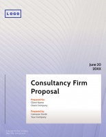 Proposals – Digital Consulting