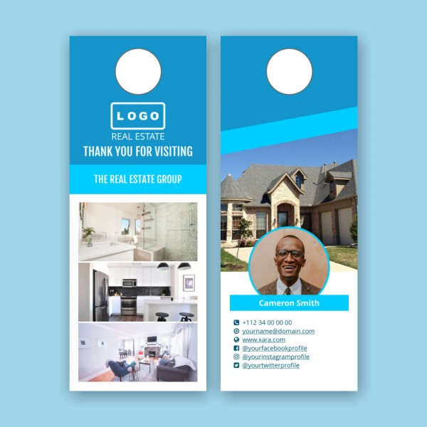 Free Real Estate Door Hangers Templates