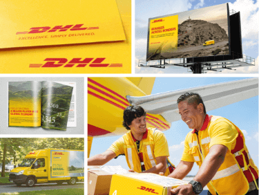 DHL brand marketing example